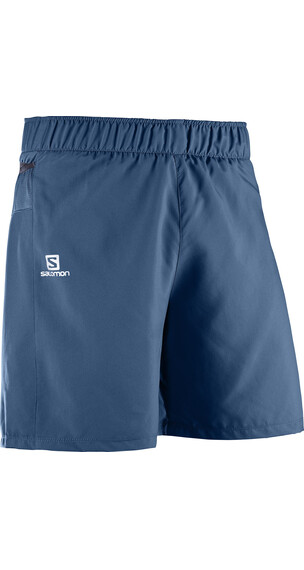 Salomon Trail Runner Shorts Men vintage indigo